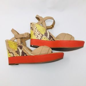 Cole Haan Wedge Sandals size 8.5